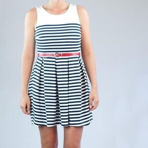 UO Others Follow Take Me Sailing Striped Dress